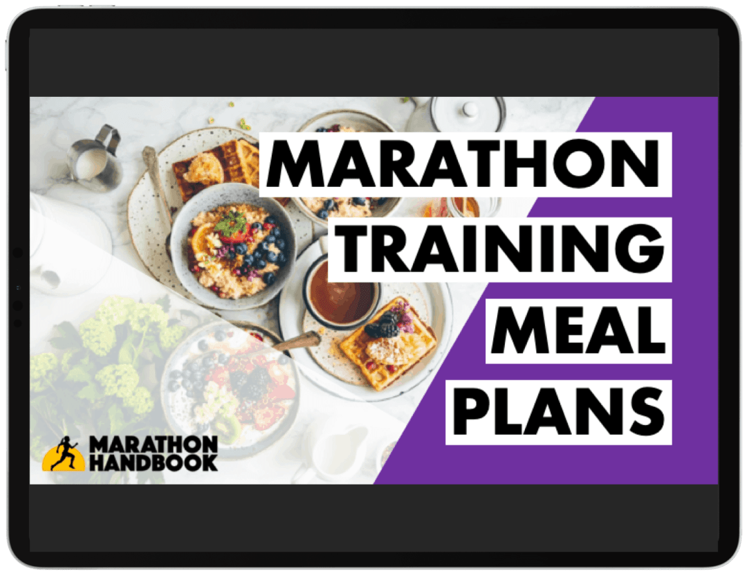 Marathon Training Meal Plans - FREE DOWNLOAD 5