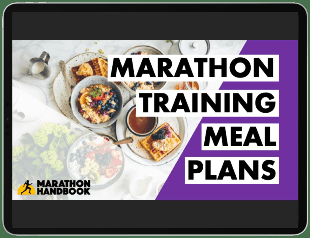 Marathon Training Meal Plans - FREE DOWNLOAD 5