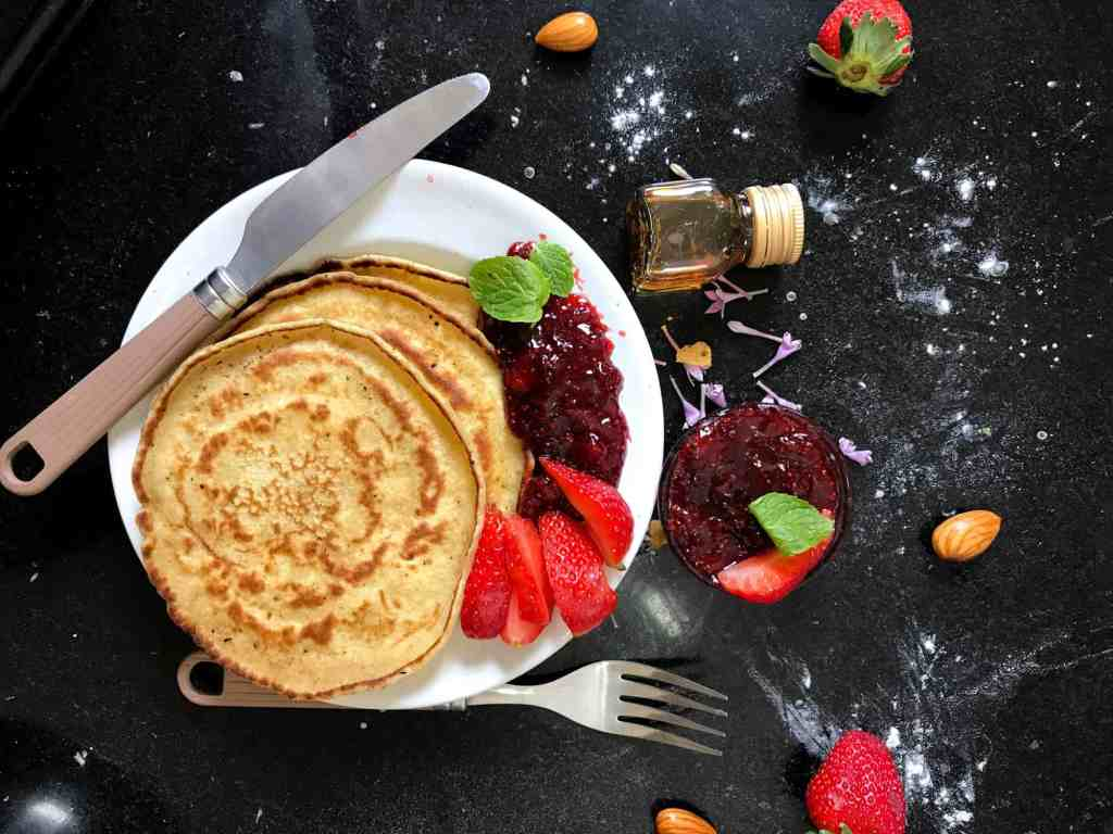 marathon training nutrition pancakes