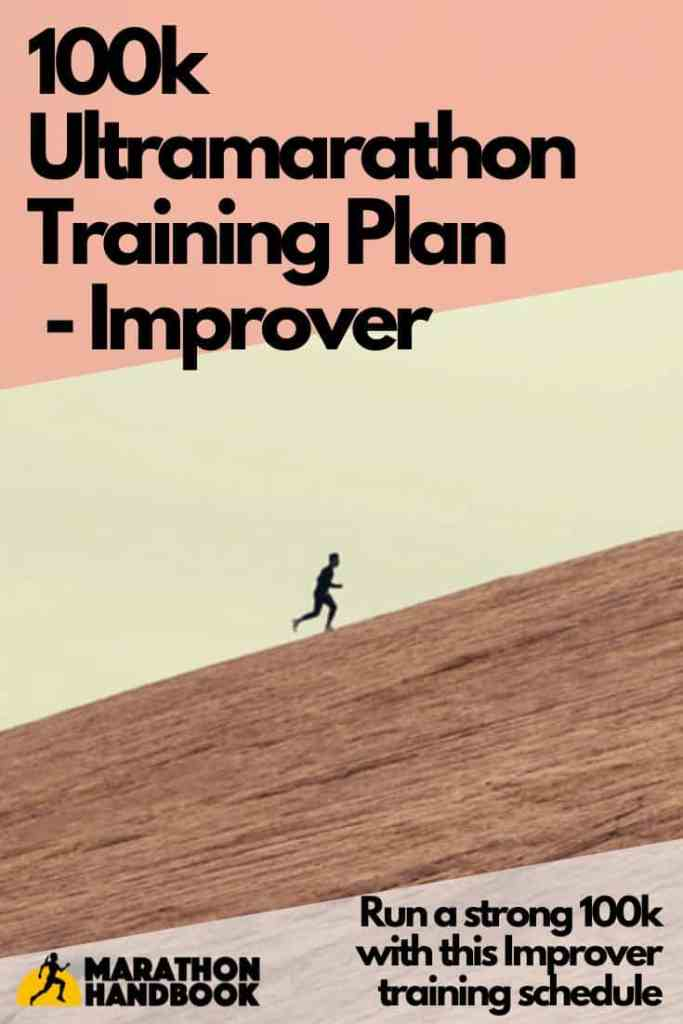 100k ultramarathon training plan improver