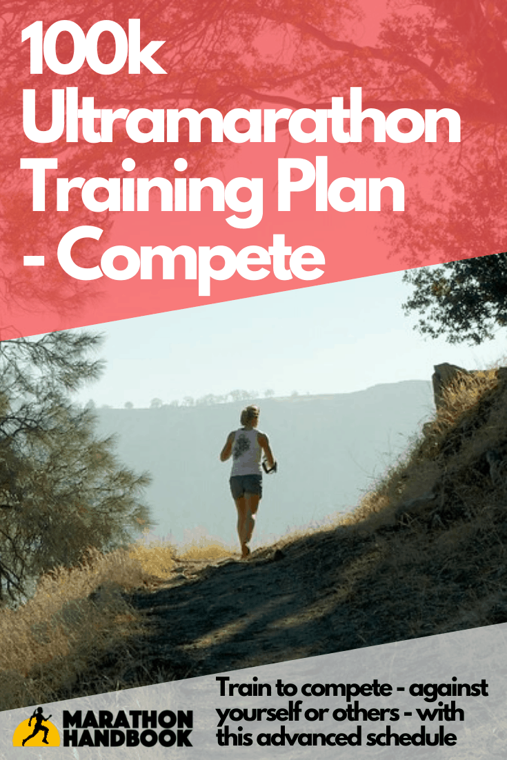 100k training plan compete