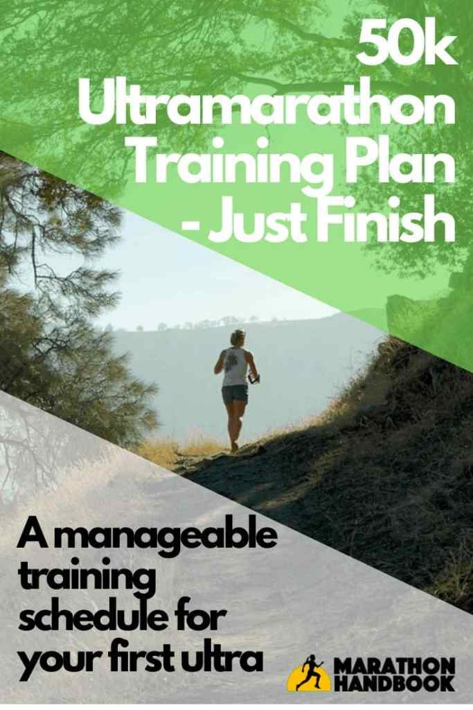 50k ultramarathon training plan - just finish