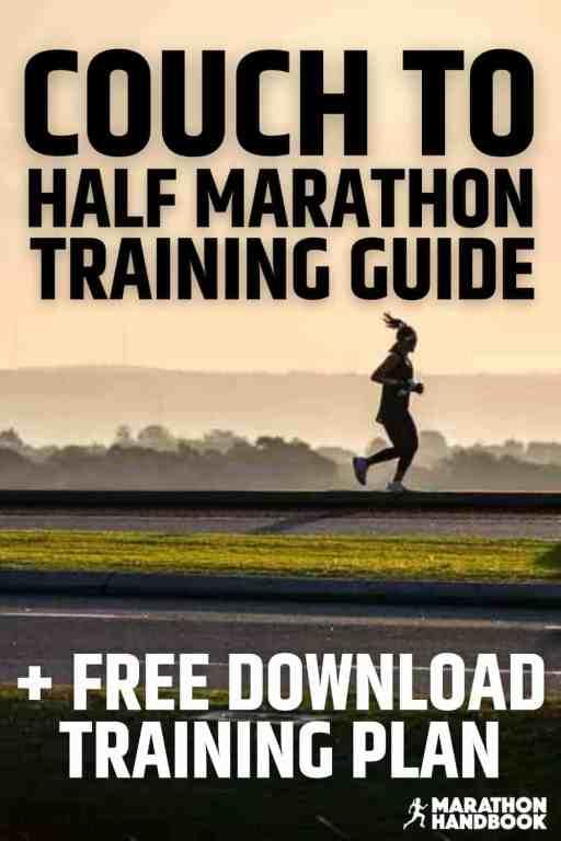 COUCH TO HALF MARATHON training plan