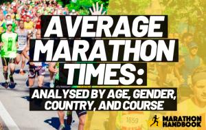 Average Marathon Times