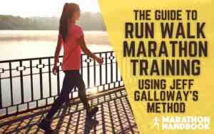 Run Walk Marathon Training