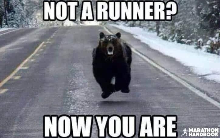 best funny running memes