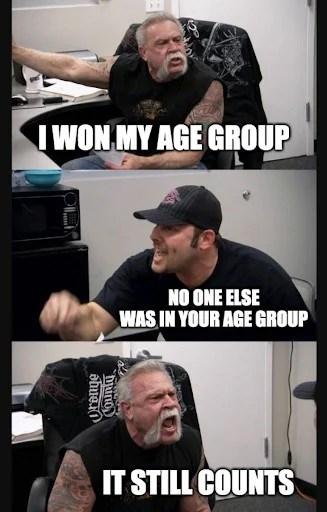 funny running memes tiger king