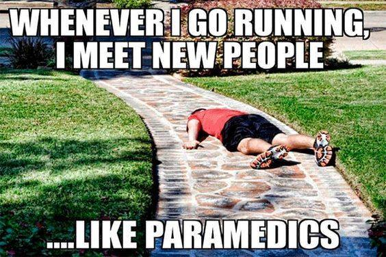 funny running meme tired runner