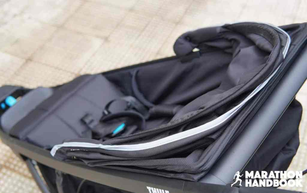 thule urban glide 2 canopy closed