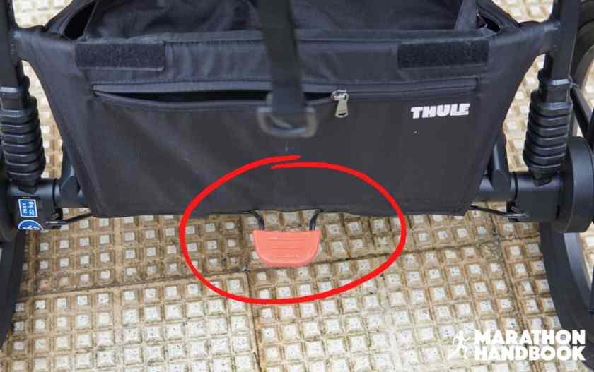thule urban glide 2 footbrake