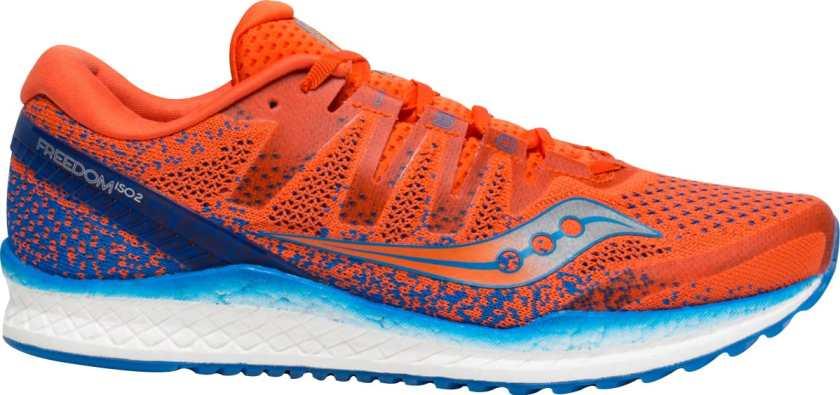 best marathon running shoes saucony freedom ISO 2