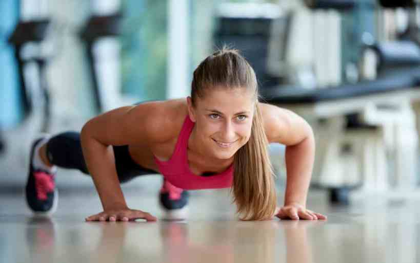 bodyweight exercises for runners pushups