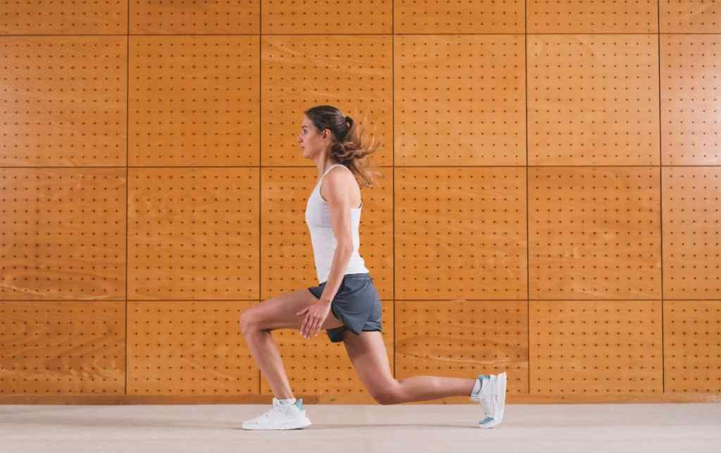 bodyweight exercises for runners lunges