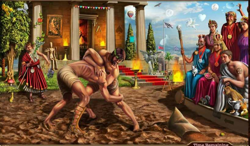 ancient greek olympics when was running invented