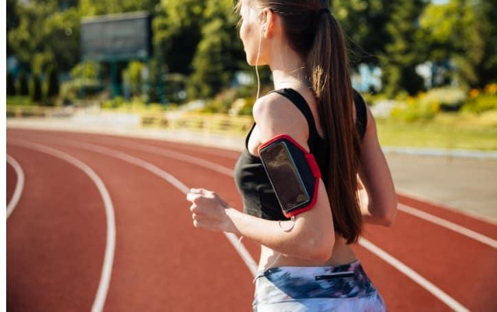 where to put phone while running