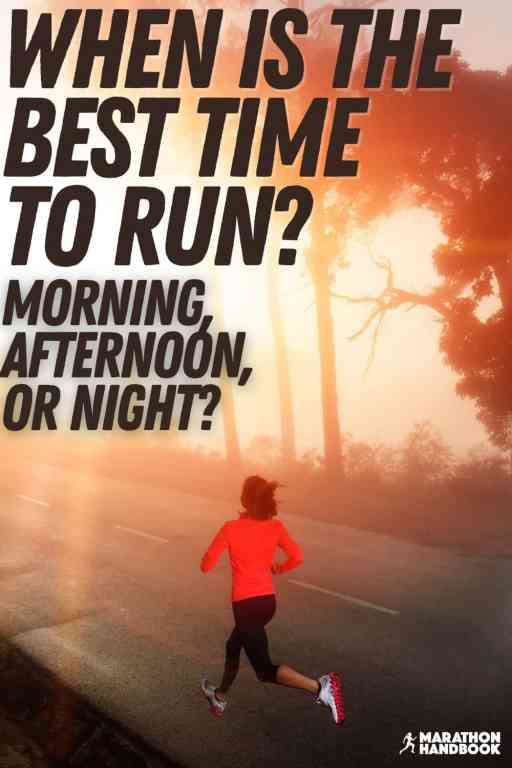 when is the best time of day to run