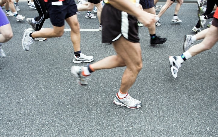 running a marathon without training