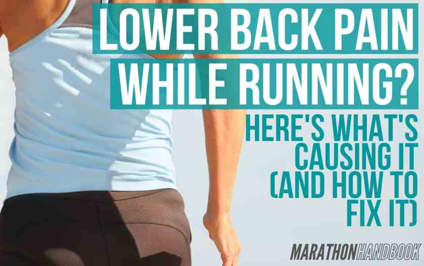 lower back pain while running 1