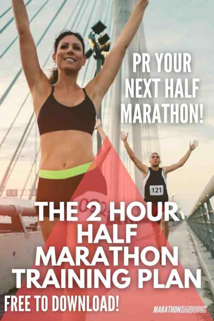 how to run a sub 2 hour half marathon