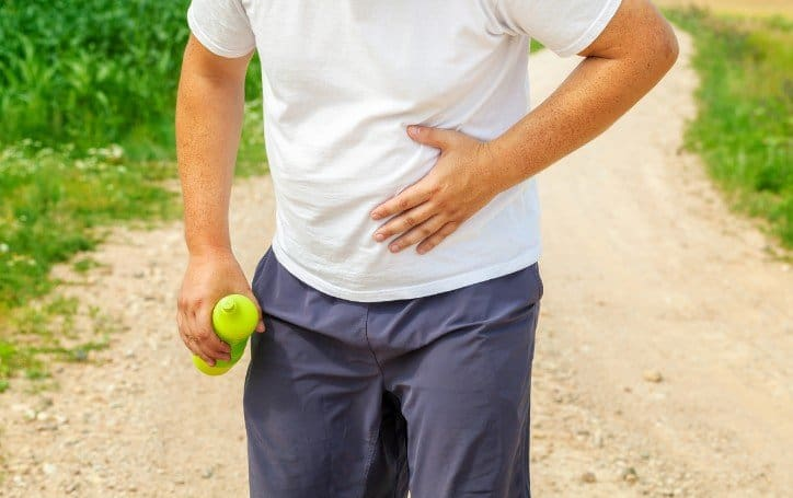 side stitch while running