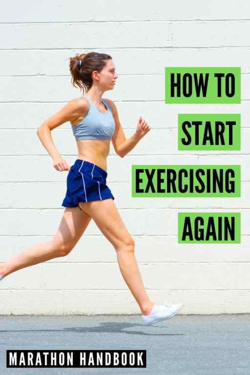 how to start exercising again
