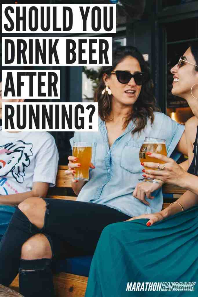 beer after running