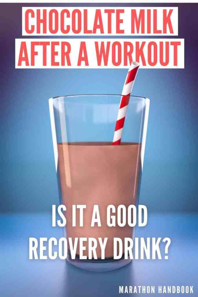 chocolate milk after a workout