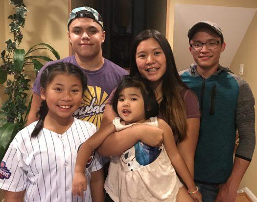 Justine's cousins in IL