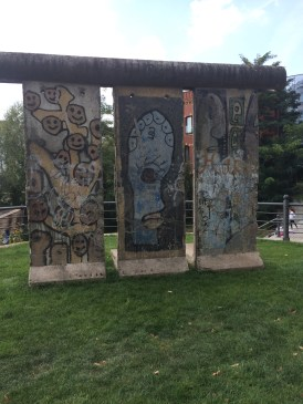 Photo: The Berlin wall- beautiful as a monument, frightening as a part of history