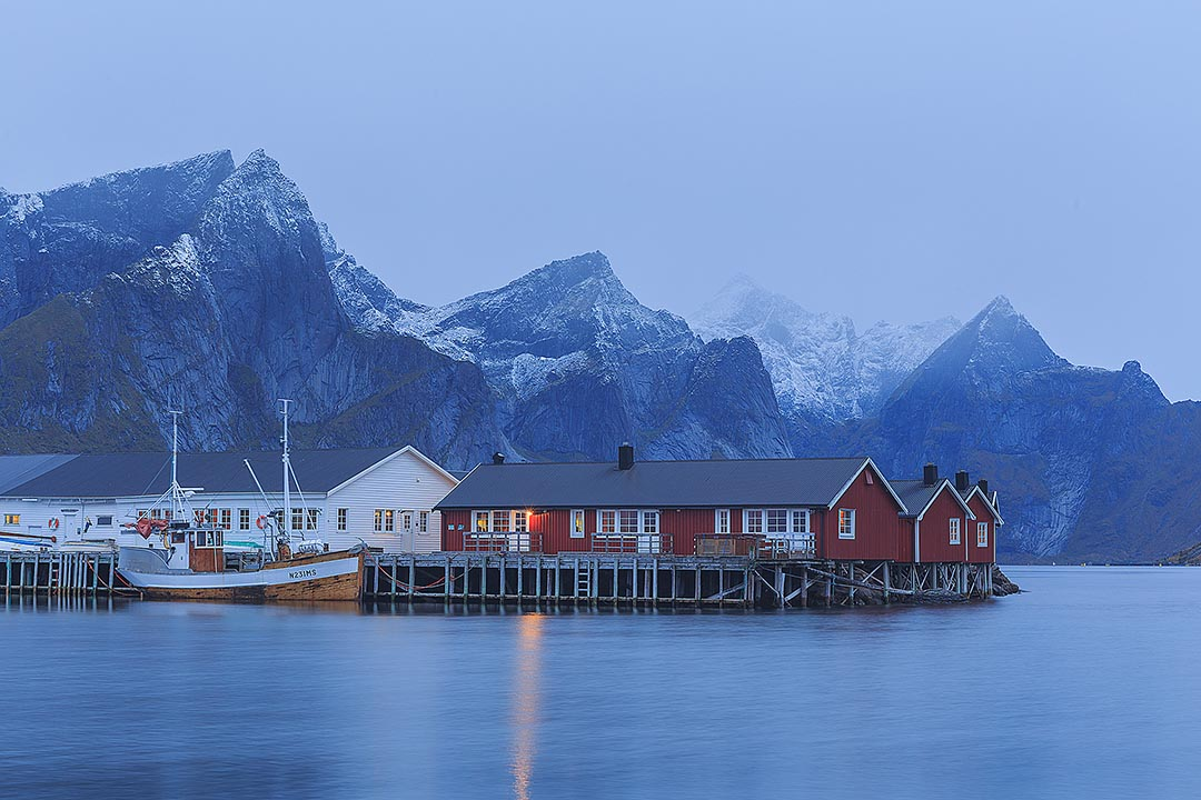 Photorgaphy workshop Lofoten Islands winter