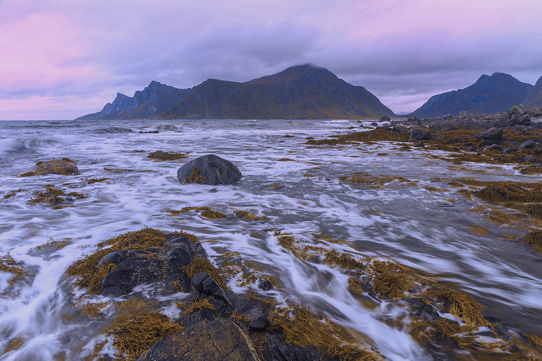 Ramberg beach, Lofoten islands, Norway