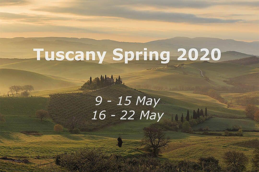 Tuscany photo tour.