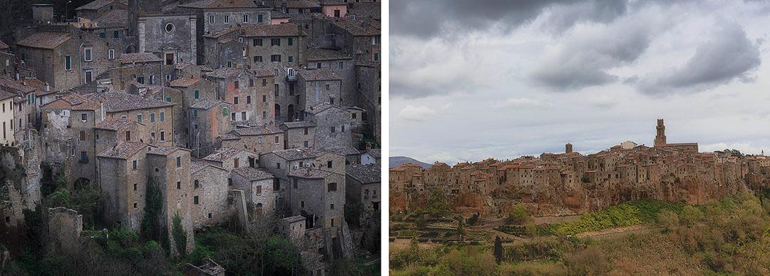 Tuscany photo tour. Sorano.