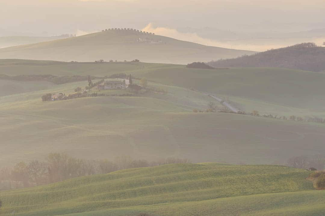 Tuscany photo tour. Val d'Orcia.