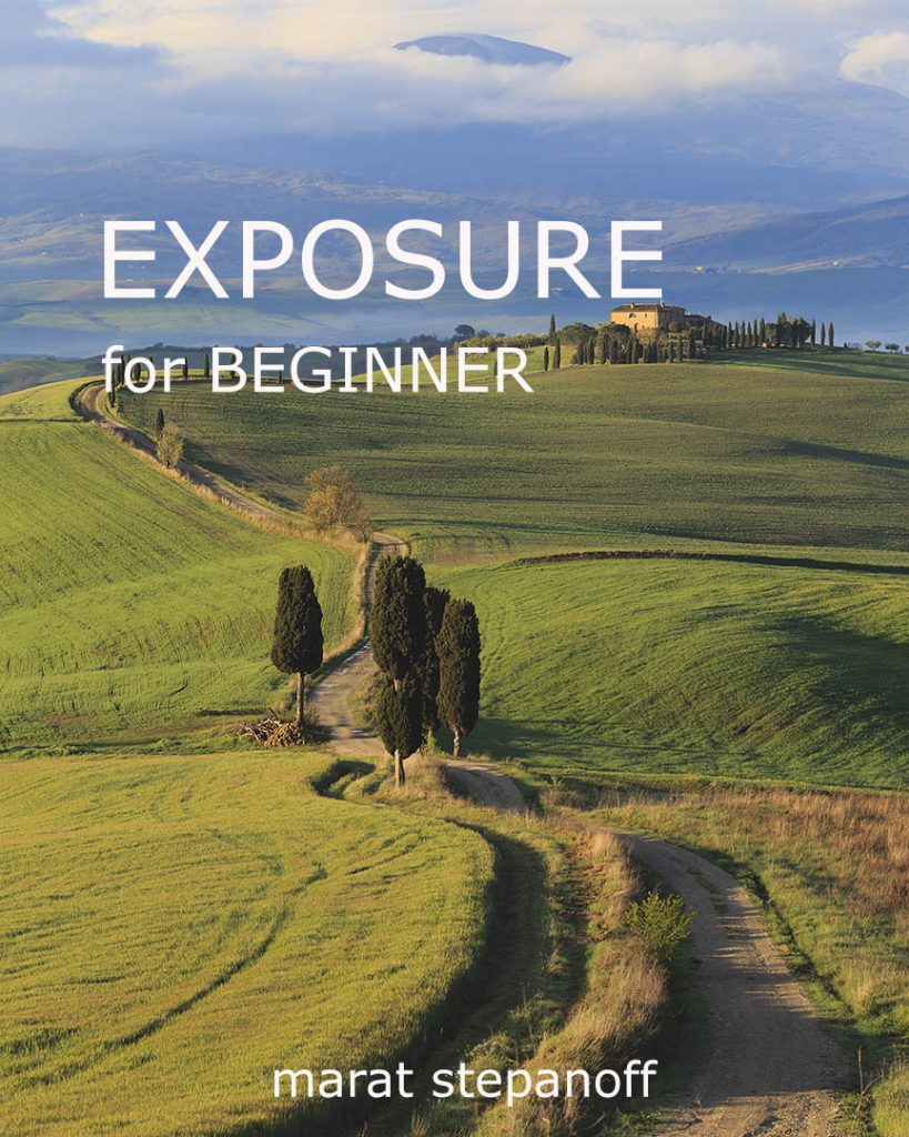 Exposure for beginner Book cover for Site