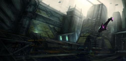 Concept Art Futuristic Cities (109)