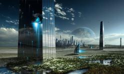 Concept Art Futuristic Cities (26)