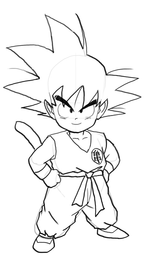 goku coloring pages goku coloring pages 14