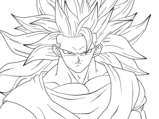 goku coloring pages 8 marbal