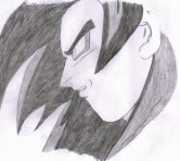 goku pictures in black and white (47)