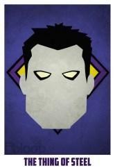 Superheroes and villains minimal art posters (10)