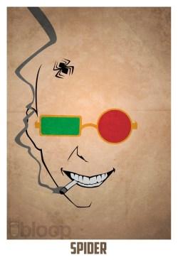 Superheroes and villains minimal art posters (13)