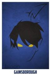 Superheroes and villains minimal art posters (14)