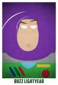 Superheroes and villains minimal art posters (15)