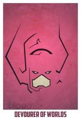 Superheroes and villains minimal art posters (24)