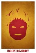Superheroes and villains minimal art posters (28)