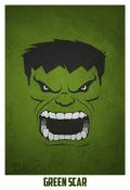 Superheroes and villains minimal art posters (4)