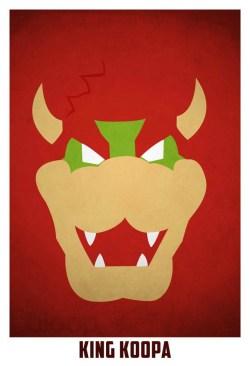 Superheroes and villains minimal art posters (49)
