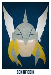 Superheroes and villains minimal art posters (5)