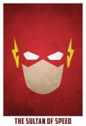 Superheroes and villains minimal art posters (54)